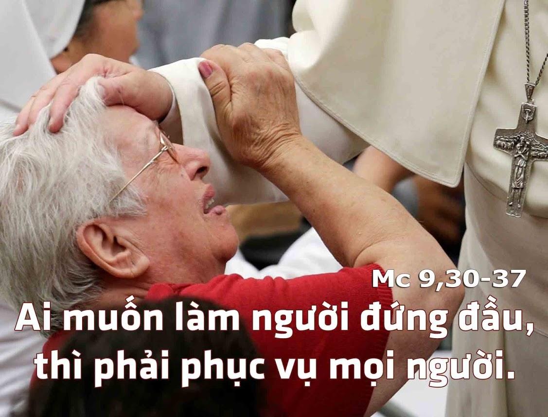 Nghe giảng Chúa nhật 25 năm B (2009 - 2018)